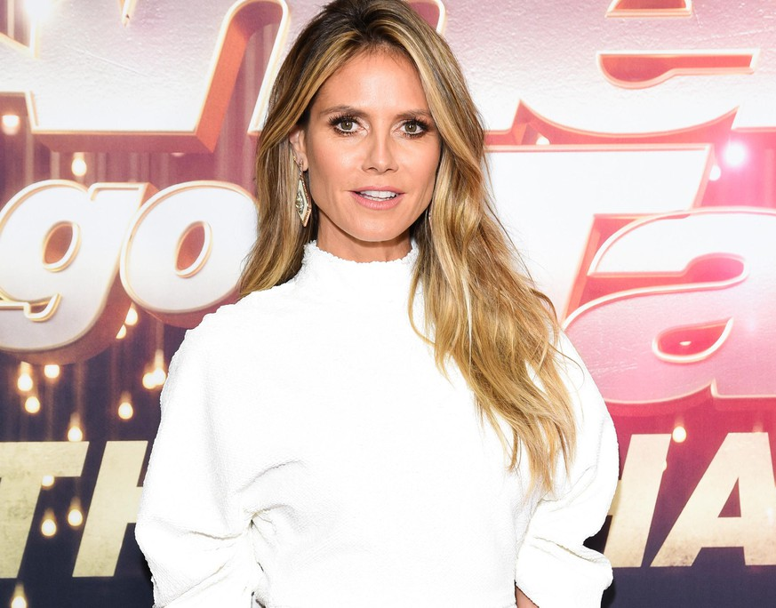 PASADENA, CALIFORNIA - OCTOBER 10: Heidi Klum attends NBC's