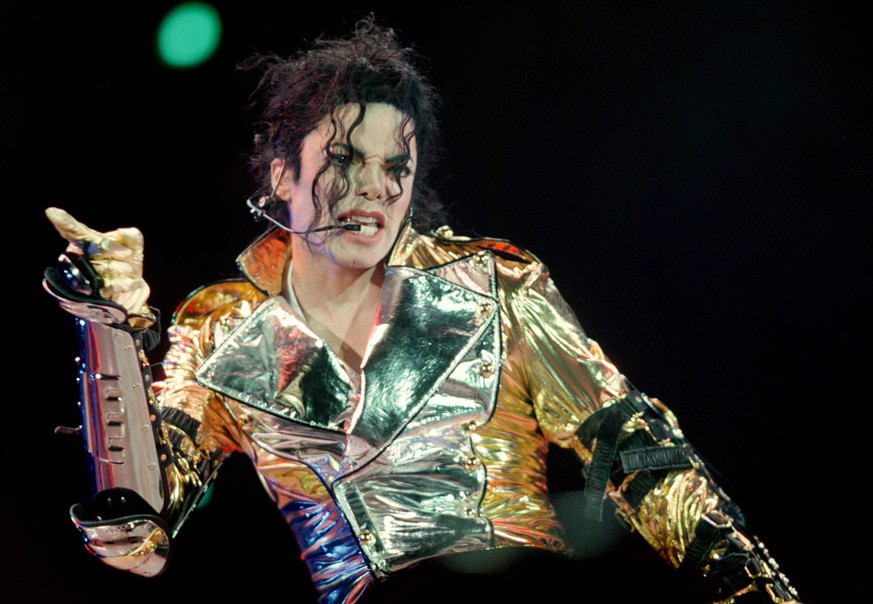 U.S. pop star Michael Jackson concerts in Prague on September 7, 1996. CTK Photo/Tomas Turek PUBLICATIONxINxGERxSUIxAUTxONLY CTKPhoto00187189
