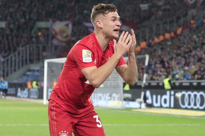 KIMMICH Joshua Team FC Bayern Muenchen DFL Fussball Bundesliga Saison 2019-2020 Spiel Borussia Moenchengladbach-FC Bayern Muenchen am 07. 12. 2019 in Moenchengladbach DFL REGULATIONS PROHIBIT ANY USE OF PHOTOGRAPHS as IMAGE SEQUENCES and/or QUASI-VIDEO *** KIMMICH Joshua Team FC Bayern Muenchen DFL Soccer Bundesliga Season 2019 2020 Game Borussia Moenchengladbach FC Bayern Muenchen on 07 12 2019 in Moenchengladbach DFL REGULATIONS PROHIBIT ANY USE OF PHOTOGRAPHS as IMAGE SEQUENCES and or QUASI VIDEO PUBLICATIONxINxGERxSUIxAUTxHUNxSWExNORxDENxFINxONLY