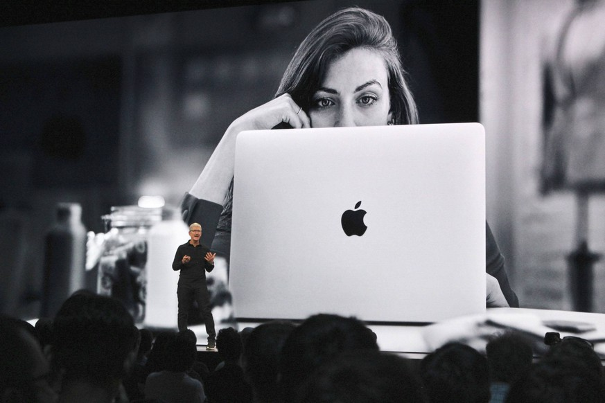 Apple developer conference Apple Inc. CEO Tim Cook speaks at the 2019 Apple Worldwide Developer Conference in San Jose, California, on June 3, 2019. PUBLICATIONxINxGERxSUIxAUTxHUNxONLY