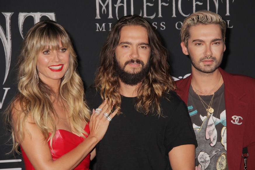 Heidi Klum, Tom Kaulitz, Bill Kaulitz 09/30/2019 The World Premiere of Maleficent: Mistress of Evil held at the El CapitanTheatre in Los Angeles, CA PUBLICATIONxNOTxINxCZExSVKxJPN Copyright: xCronos/IzumixHasegawax crfhnw30092019511