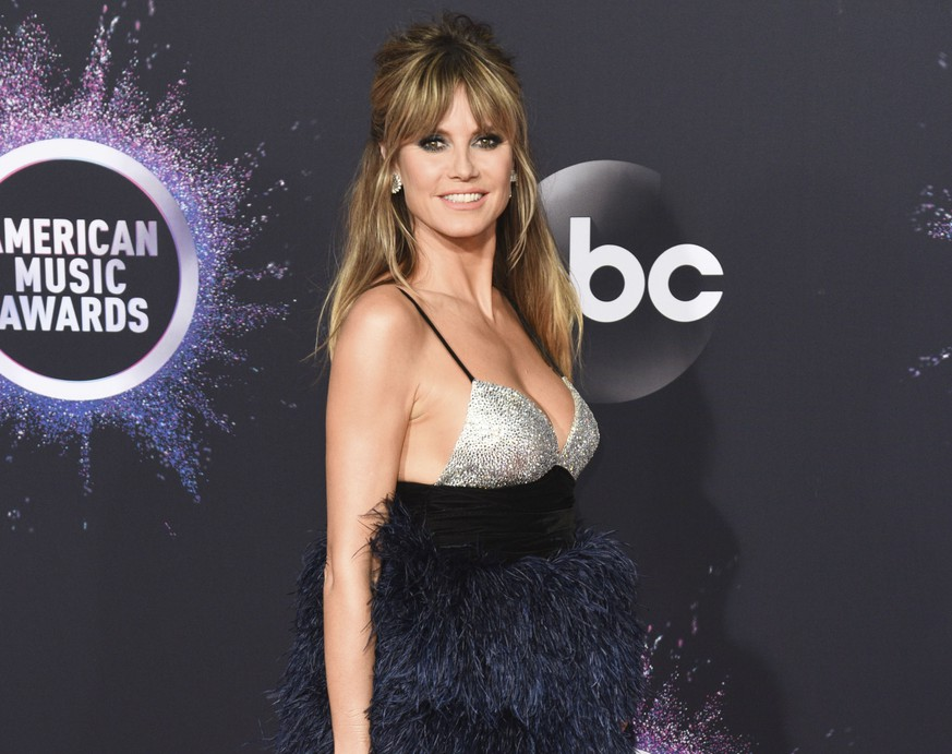 LOS ANGELES, CA - NOVEMBER 24: Heidi Klum attends the 2019 American Music Awards at Microsoft Theater on November 24, 2019 in Los Angeles, California. Photo: imageSPACE/MediaPunch PUBLICATIONxINxGERxSUIxAUTxONLY Copyright: ximageSPACEx