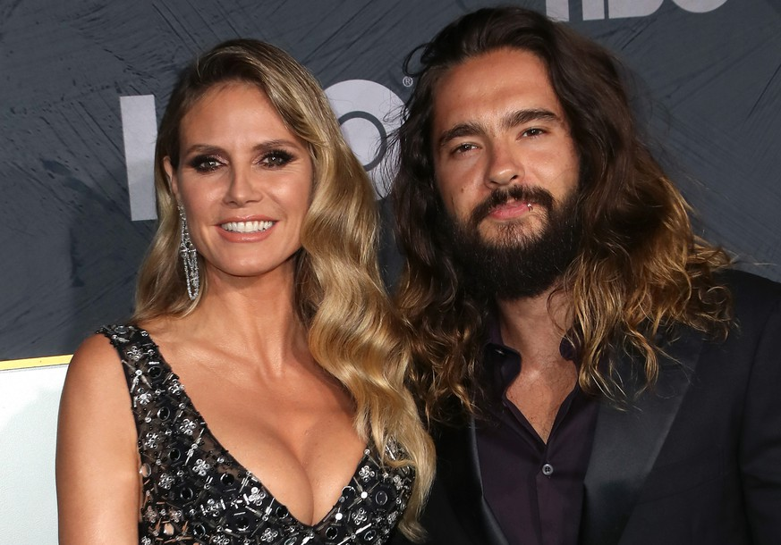 LOS ANGELES, CALIFORNIA - SEPTEMBER 22: Heidi Klum and Tom Kaulitz attend the HBO's Post Emmy Awards Reception at The Plaza at the Pacific Design Center on September 22, 2019 in Los Angeles, California. (Photo by David Livingston/Getty Images)