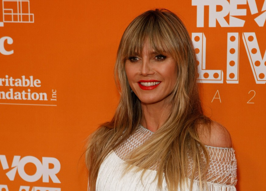 BEVERLY HILLS, CALIFORNIA - NOVEMBER 17: Heidi Klum attends The Trevor Project s TrevorLIVE LA 2019 at The Beverly Hilton Hotel on November 17, 2019 in Beverly Hills, California. Photo: CraSH/imageSPACE/MediaPunch PUBLICATIONxINxGERxSUIxAUTxONLY Copyright: ximageSPACEx