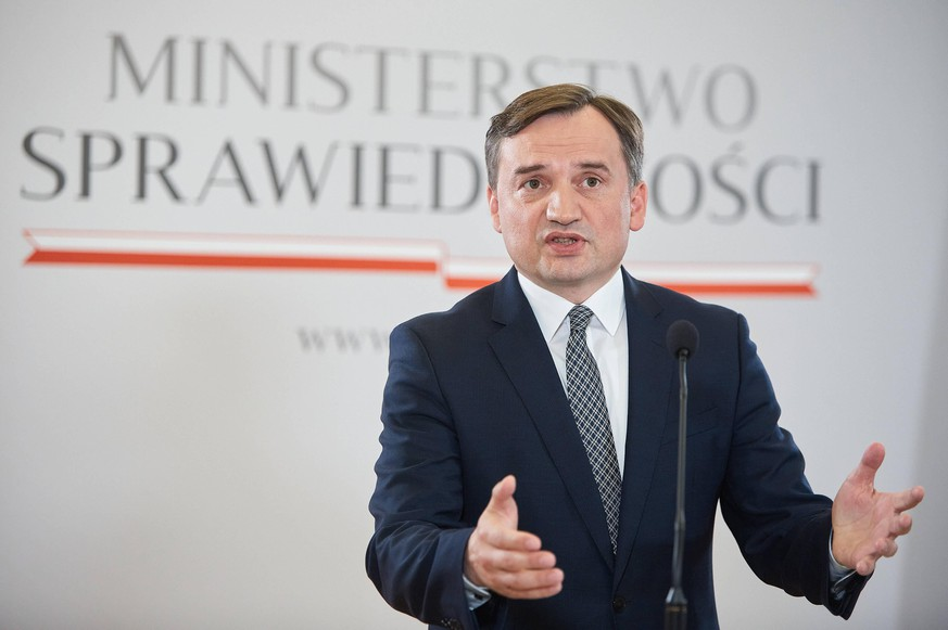 July 25, 2020, Warsaw, Mazovian, Poland: Minister Of Justice And Prosecutor General ZBIGNIEW ZIOBRO: We Will Submit A Request To Terminate The Istanbul Convention..The Ministry of Justice Will Request The Denunciation Of The Istanbul Convention On Counteracting Domestic Violence...in the picture: ZBIGNIEW ZIOBRO Warsaw Poland - ZUMAm332 20200725_zip_m332_025 Copyright: xHubertxMathisx